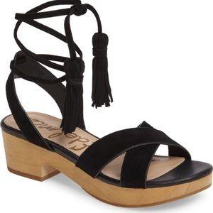 Sam Edelman Jenna Clog Tassel Shoes